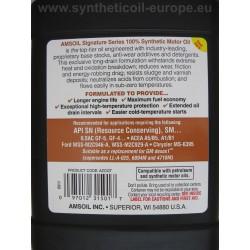 AMSOIL 0W-30 semnătura serie complet sintetic ulei de Motor