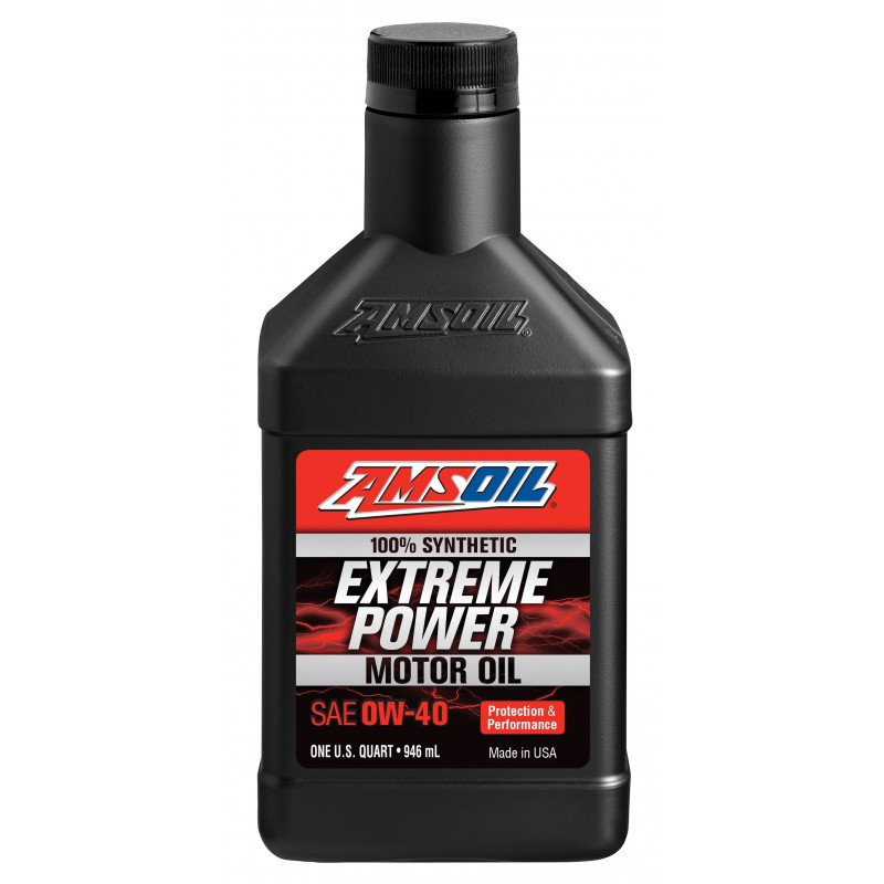 Amsoil Extreme Power 0W-40 100% Synthetic Motor Oil
